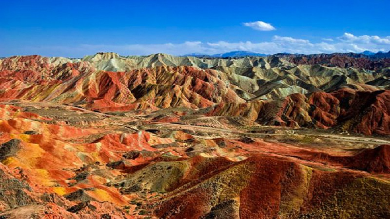 Danxia Mountain Valley
