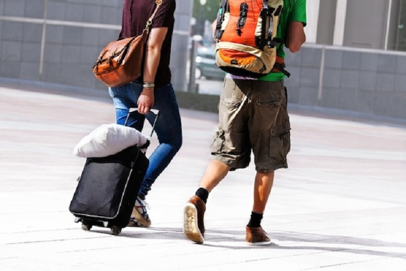 Suitcase or Backpack to Go on a Trip