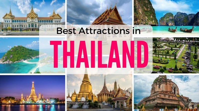 tourist areas of Thailand