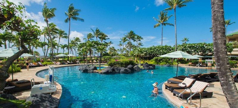 Pools of Kauai Island