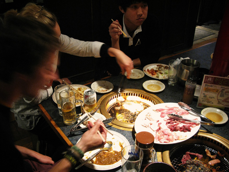 The eating cost in Japan