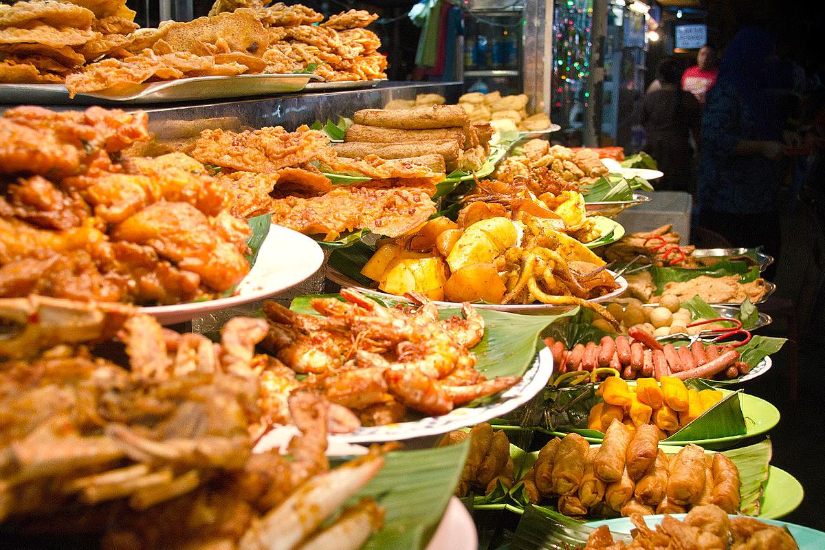 Maldivian street snacks