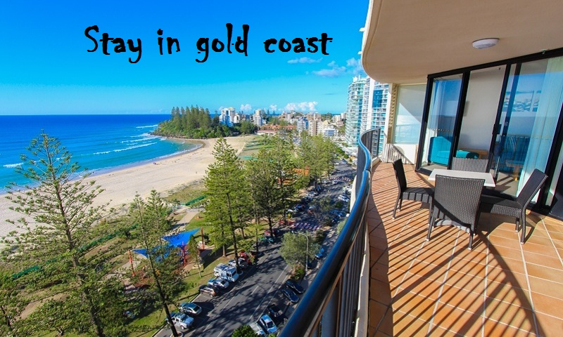 Where to stay in gold coast Australia with family?