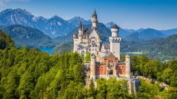 most beautiful castle in Germany